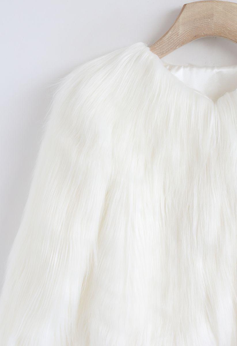 【子供服】フォーファーコート ホワイト