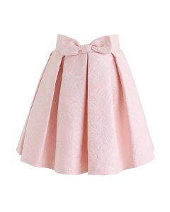 ジャガードスカート ピンク